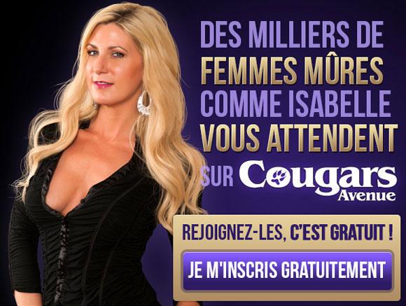 Jolie cougar blonde comme la vierge